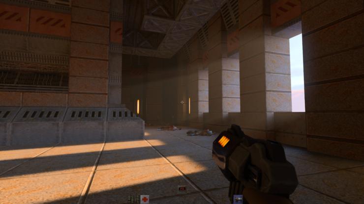Quake II loce mellor que nunca grazas á tecnoloxía RTX