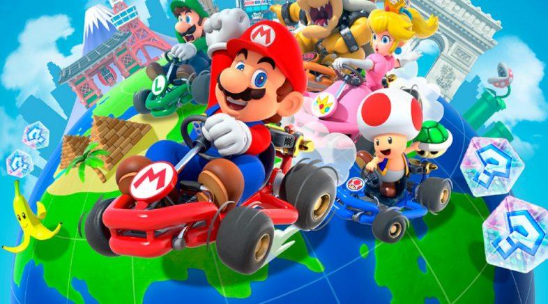 Mario Kart Tour, o título máis descargado na App Store no 2019