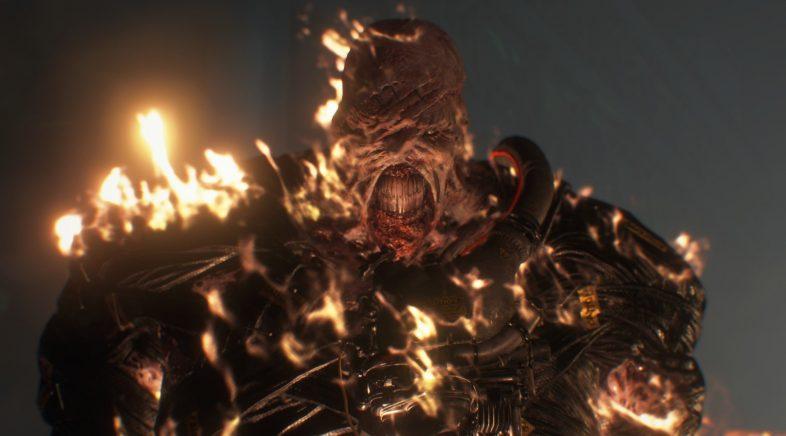 Así loce Nemesis no novo adianto de Resident Evil 3