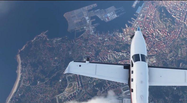 Los aeropuertos gallegos también estarán presentes en el nuevo Microsoft Flight Simulator