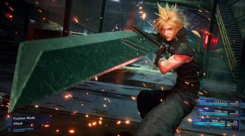 Final Fantasy VII Remake confirma canto espazo necesitará en PS4