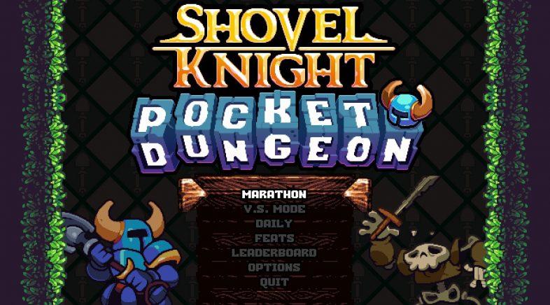 Shovel Knight: Pocket Dungeon, nuevo título de aventura y puzles