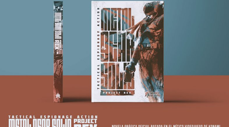 Project Rex :: Cando lemos e admiramos a Solid Snake