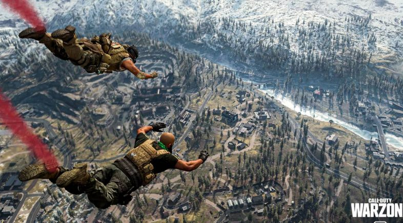 Call of Duty: Warzone estréase cunhas cifras millonarias e de récord