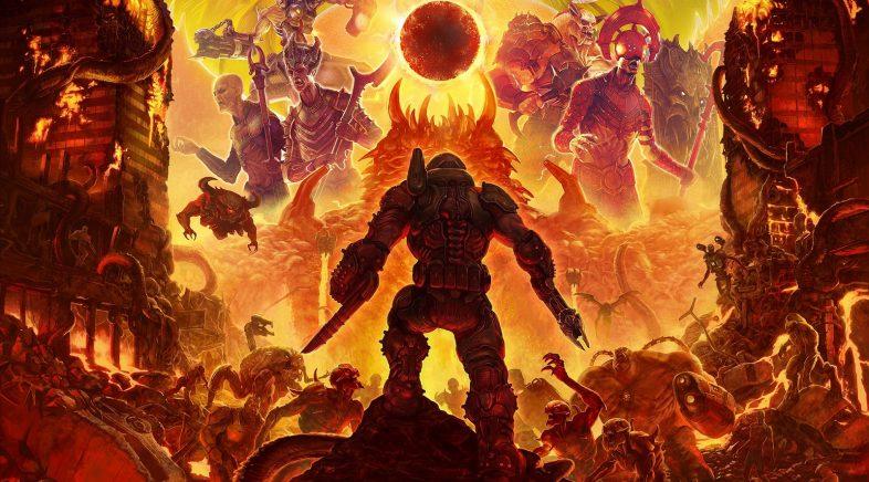 Doom Eternal triunfa durante o seu lanzamento en Steam