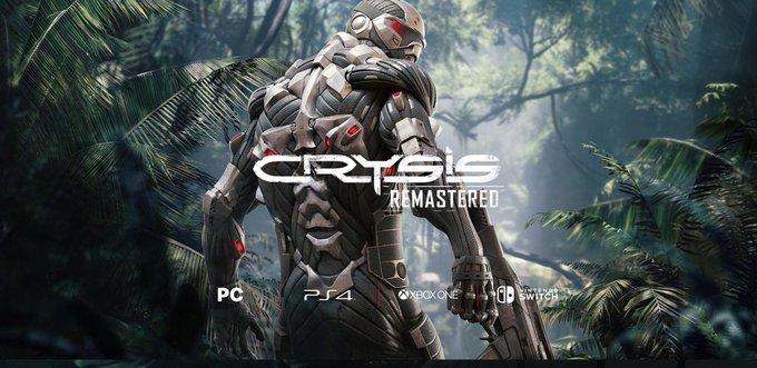 Crytek confirma la llegada de Crysis Remastered para esta generación