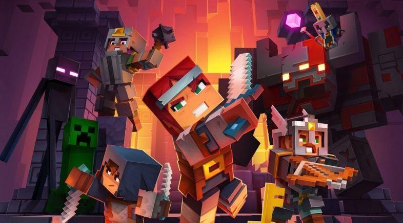 Minecraft Dungeons non contará con cross-play no seu lanzamento