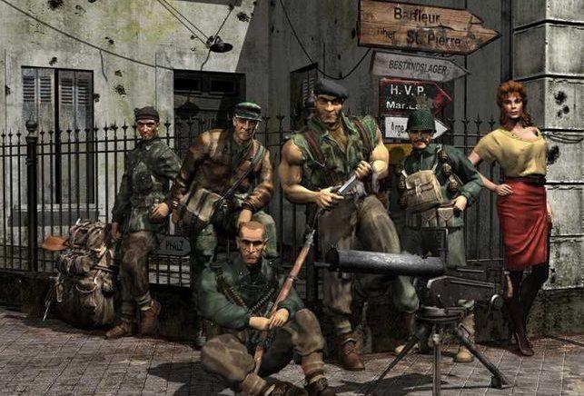 A saga Commandos contará cunha nova entrega da man de Claymore Game Studios