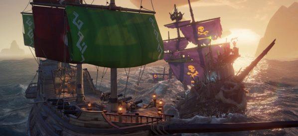 Ships of Fortune converte en emisarios os xogadores de Sea of Thieves