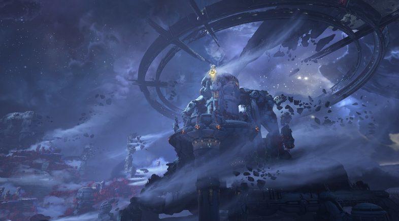 DOOM Eternal amosa as primeiras imaxes do seu DLC