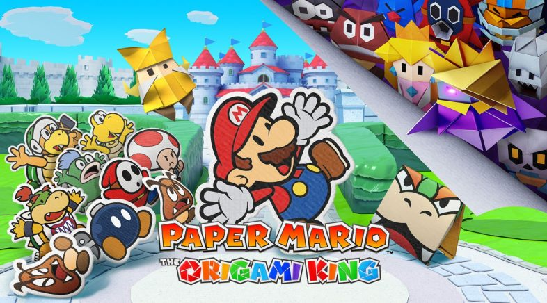 Paper Mario: The Origami King chegará en xullo a Nintendo Switch