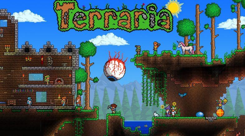 Terraria establece o seu récord de xogadores en Steam após a súa derradeira actualización