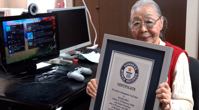 Hamako Mori, a avoa dos youtubeiros de videxogos