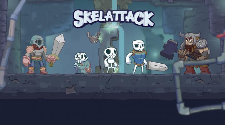 Konami presenta Skelattack, o seu novo e atractivo plataformas en 2D