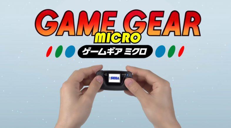 Sega celebra o seu aniversario coa chegada da Game Gear Micro e o futuro das recreativas