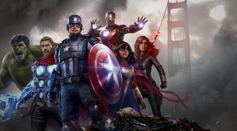Marvel's Avengers en PS4 e Xbox One terá actualizacións para a nova xeración de balde