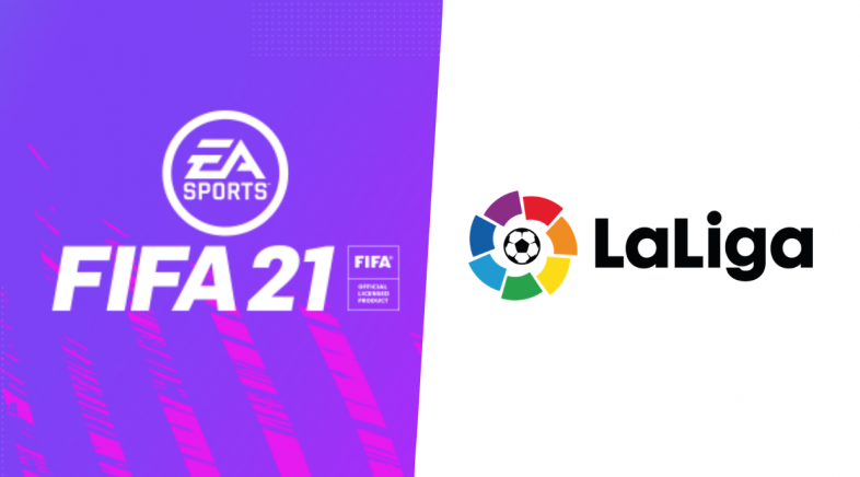 A saga FIFA extende o seu acordo de exclusividade coa Liga española por 10 anos