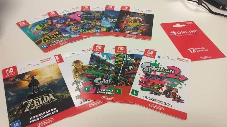 Nintendo decide retirar de la venta las tarjetas con códigos digitales de sus títulos