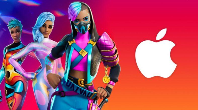 Apple e Epic Games comezan unha guerra comercial por mor de Fortnite