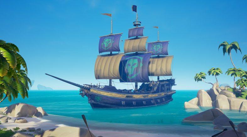 Sea of Thieves detalla o contido da súa vindeira actualización de balde