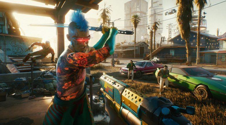 Cyberpunk 2077 amosa o seu primeiro gameplay en Xbox Series X e Xbox One X