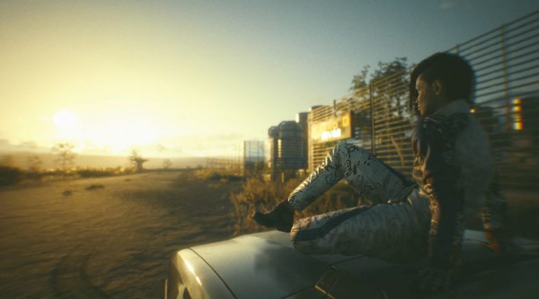 Cyberpunk 2077 presenta en vídeo o seu completo modo foto