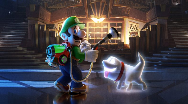 Nintendo merca o estudio responsábel de Luigi's Mansion 3