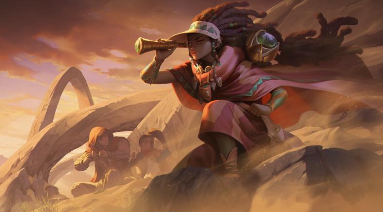 A nova actualización de Legends of Runeterra preséntase en sociedade