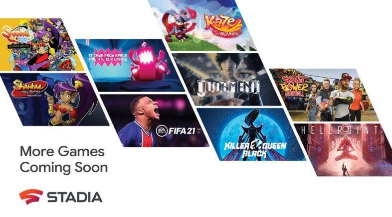 Stadia anuncia a incorporación de novos xogos e promete máis de cen este 2021