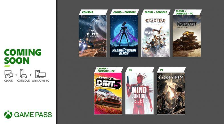 Xbox Game Pass anuncia as novas incorporacións de xogos deste febreiro