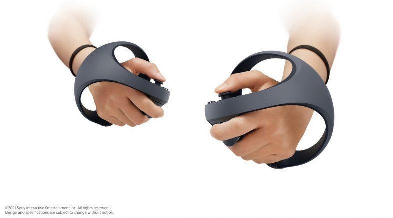 Sony amosa os controladores do dispositivo de RV de PS5