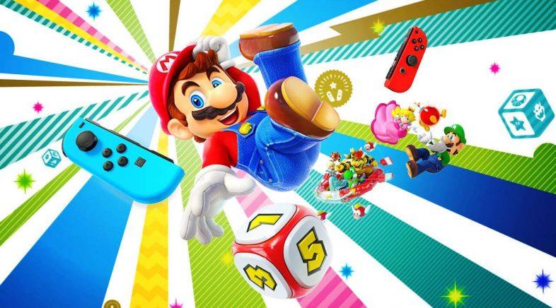 Super Mario Party incorpora gratis o multixogador en liña en todos os seus modos
