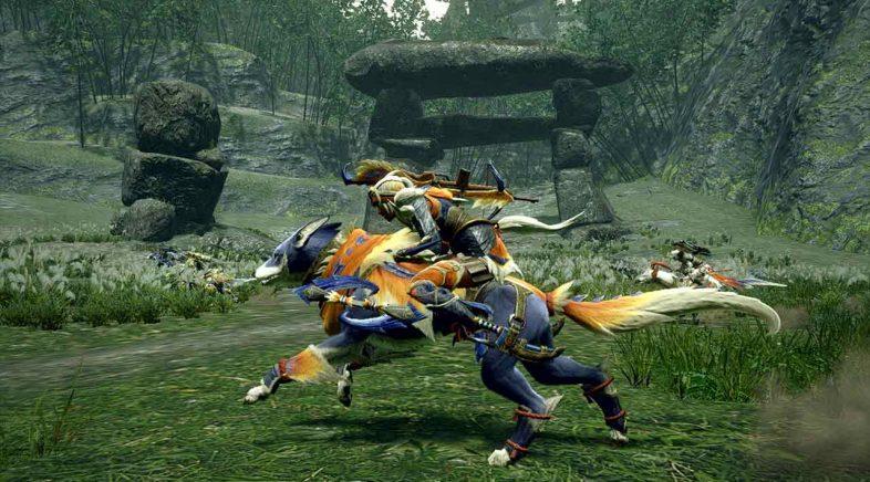 A primeira grande actualización de Monster Hunter Rise chega este mércores