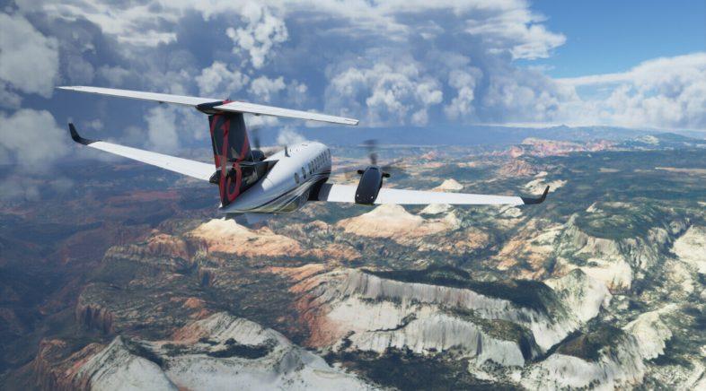 Microsoft Flight Simulator reduce o seu tamaño ata a metade co seu último parche