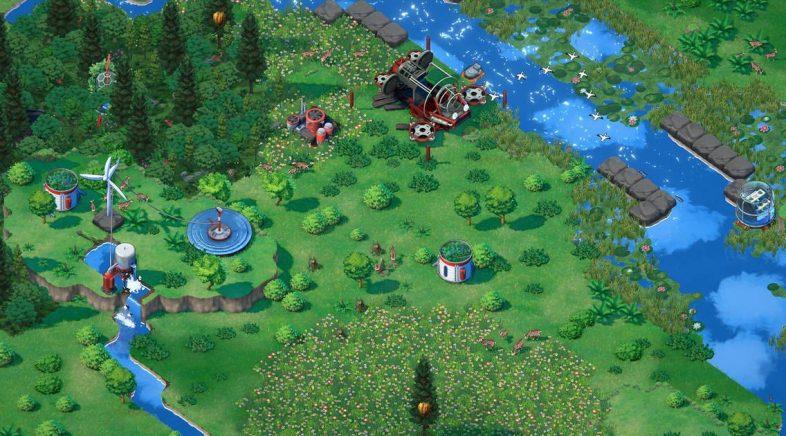 Terra Nil, de Devolver Digital, un simulador co que revivir ecosistemas