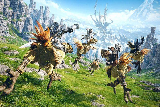 Final Fantasy XIV supera a súa marca de xogadores simultáneos en Steam