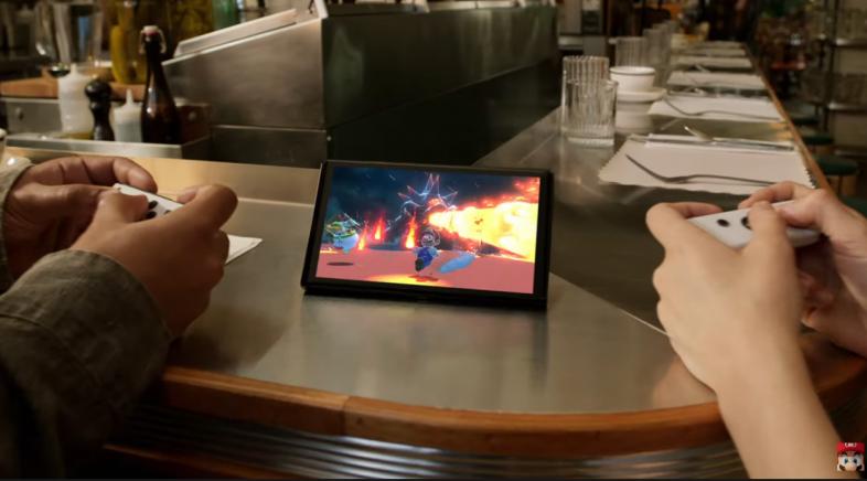 Nintendo presenta o seu novo modelo de Switch con pantalla OLED