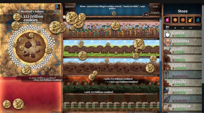 Cookie Clicker publicarase en Steam, remasterizado, o 1 de setembro