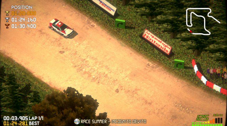 Xa en Steam Super Woden GP, o novo título de condución galego