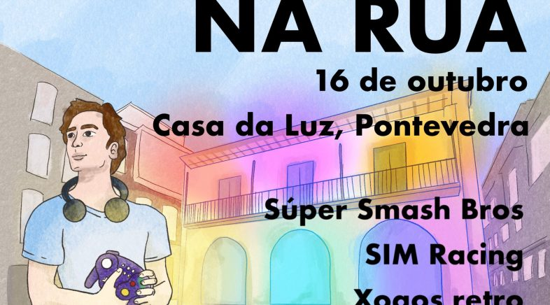 Gaming na Rúa, un evento con competición, cultura retro e simulación en Pontevedra